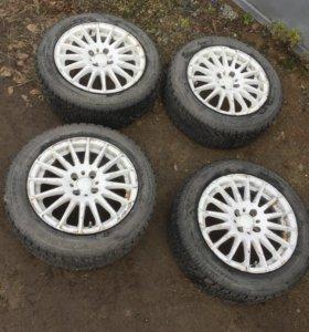 продам 15ые зимние колеса на ВАЗ