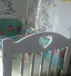 Кроватка детская!