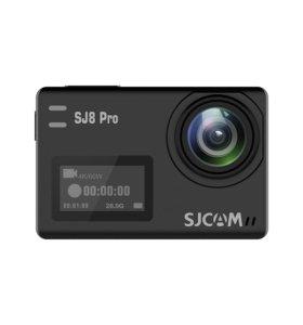 SJCAM SJ8 Pro. Поддержка 4K/60 FPS. Экшен камера,
