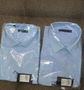 Рубашки новые короткий/длинный рукав