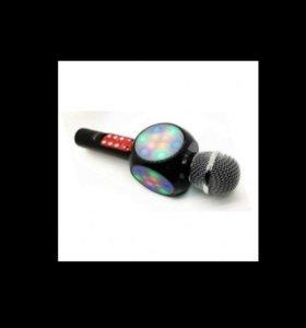 Микрофон караоке с колонкой