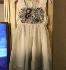 Нежное платье 128-134