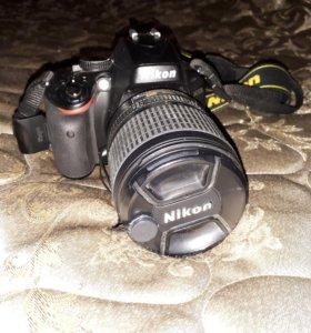 Продаю фотоаппарат D5100 kit