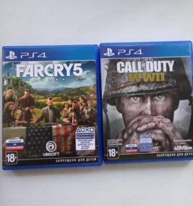 farcry5, call of duty ww2