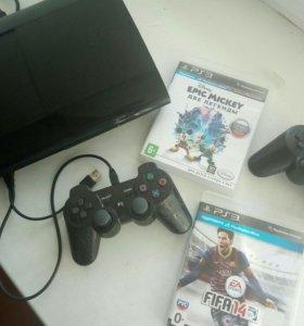 Sony PS3 (super slim).ТОРГ уместен
