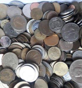 Монеты стран мира 7 кг