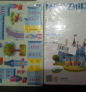 Конструктор Замок пазл 3D развивающие игрушки