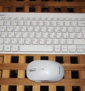 Новые клавиатура + мышь SAMSUNG Bluetooth 3.0