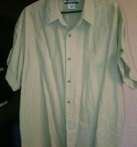 Рубашка мужская лён Columbia 52-54