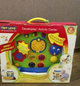 Детский двухсторонний развивающий центр Tiny Love