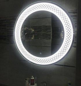 Зеркало в ванну с подстветкой
