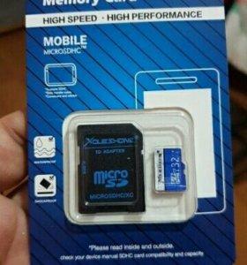 SD-карты ( на 32 гб ).