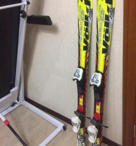 Лыжи горные детские