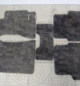 Тканевые коврики от Субару легаси