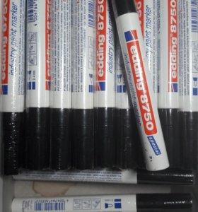 Промышленный лаковый маркер черный