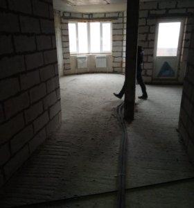 Квартира, 1 комната, 43.6 м²