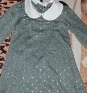 Платье простенькое и милое 👍