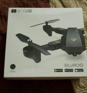 Новый складной мини дрон