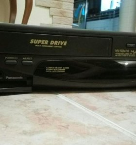 VHS плеер panasonic