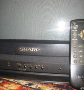 Цветной телевизор sharp