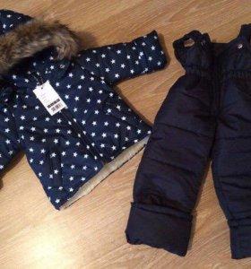 Зимний костюм унисекс 86-92 см