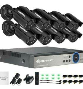 Восьмими канальная система видеонаблюдения