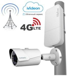 Уличная 4G(LTE) камера с записью в облако Ivideon