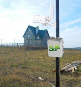 Уличная 3G камера на дачу