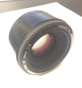 Объектив YongNuo AF50mm F1.8