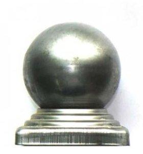 Навершие-шар на столб 80х80. 7 шт.