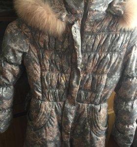 Зимняя куртка и пальто