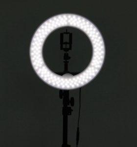 Koльцевая лампа для визажистов 180, Mettle LED
