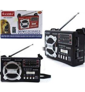 Радиоприемник FM/USB/SD WAXIBA XB-322URT