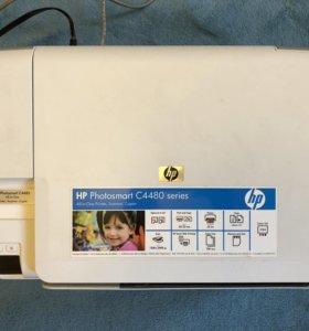 """МФУ HP Photosmart C4480 """"все-в-одном"""""""