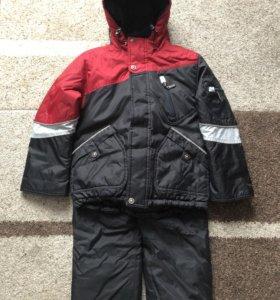 Зимний комплект на мальчика р. 110