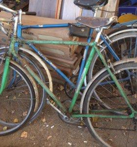 Велосипеды на запчасти