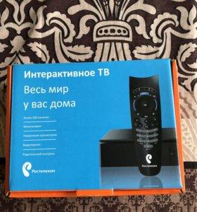 ТВ приставка Ростелеком Интерактивное ТВ