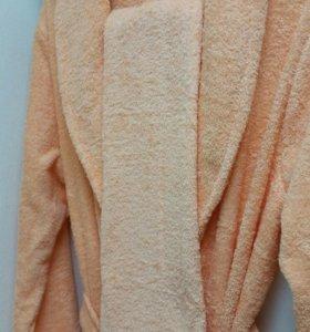 Новые женские махровые халаты