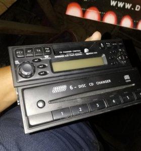 Штатная магнитола Nissan Patrol Y61(2004г) оригина