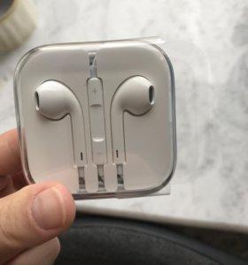 Наушники EarPods Apple НОВЫЕ