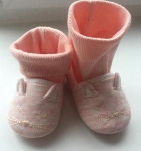 Домашние ботиночки кошечки