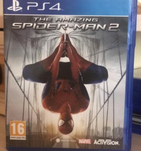 "Игра на PlayStation 4 ""The amazing Spider-men 2"""