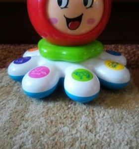 Развивающая игрушка осминожка.