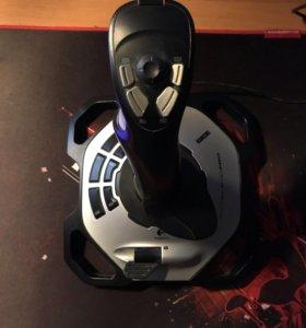 Джойстик Logitech G Extreme 3D Pro чёрный/серебрис