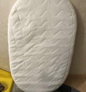 Овальный матрас для кроватки