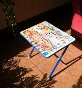 детский складной столик
