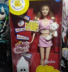 Кукла Barbie cuddly Teddy коллекционная
