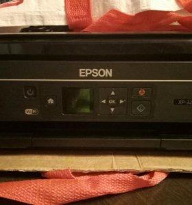 МФУ Epson xp-323 с СНПЧ