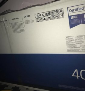 Новый телевизор Samsung 40mu6103