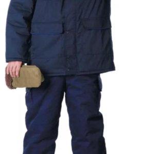 Зимний утепленный костюм